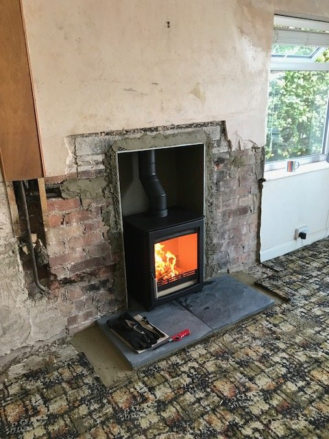 Installation carried out in Holtby, near York