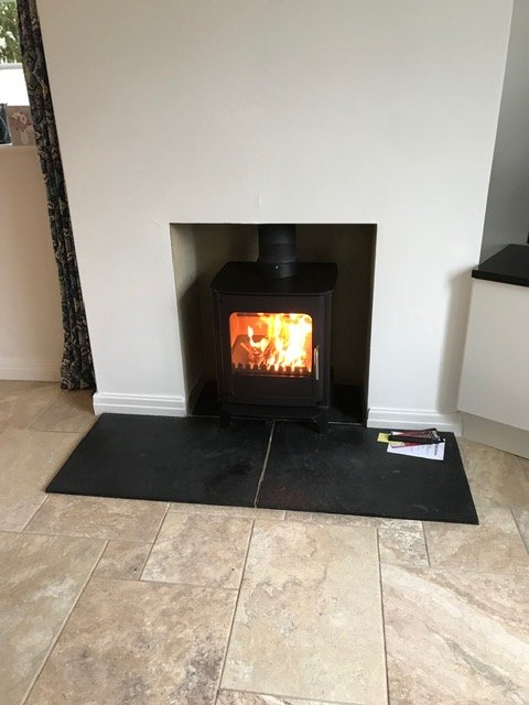 Stove installations carried out week commencing 5/11/18