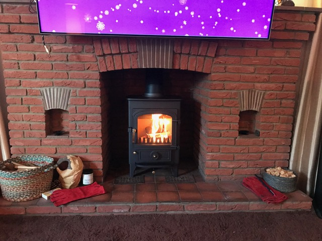 Stove installations carried out week commencing 12/11/18
